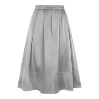 Hotsquash Silky Skirt With Clevertech Silver