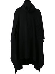 Alexandre Plokhov Cape Jacket Black