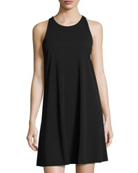 Cynthia Steffe Sleeveless Matte Jersey Dress Black