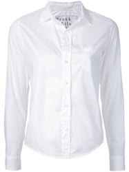 Frank And Eileen Fitted Shirt White