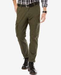 Dockers Alpha Athletic Fit Good Cargo Pants Olive
