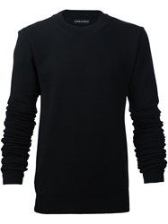 Y Project Extended Sleeves Jumper Black