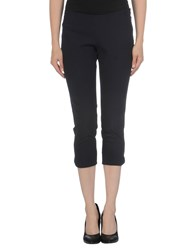 Elisabetta Franchi 24 Ore Trousers 3 4 Length Trousers Women Dark Blue
