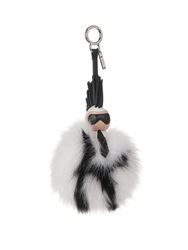 Fendi Super Karlito Pompom Fox Fur Bag Charm
