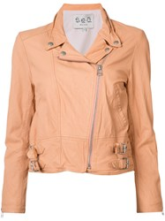 Sea Zipped Jacket White