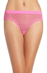 Honeydew Intimates Women's 'Maddie' Swiss Dot Bikini Pucker Up