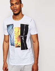 Aka T Shirt With Graphic Prints White