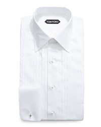 Tom Ford Classic Collar Evening Dress Shirt White