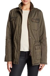 Barbour Collared Casual Jacket Brown