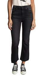 Hudson Holly Hr Crop Flare Jeans Black Hound