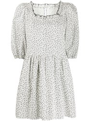 Sandy Liang Tilda Floral Print Cotton Dress 60