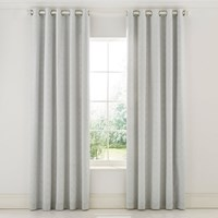 Sanderson Chiswick Grove Lined Curtains Silver Grey