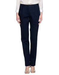Malo Trousers Casual Trousers Women Dark Blue