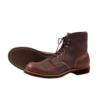 Red Wing Shoes Iron Ranger Boots Amber Harness