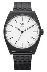 Adidas Process Bracelet Watch 38Mm Black White