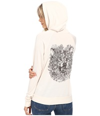 Obey Pretty Dangerous Pullover Moon Beam Women's Sweatshirt Taupe