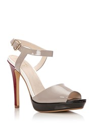 Moda In Pelle Rumina Very High Smart Sandals Taupe