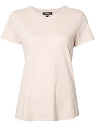 Paige Classic T Shirt Pink Purple