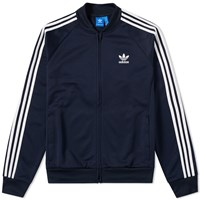 Adidas Relaxed Superstar Track Top Blue