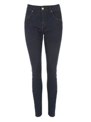 Jane Norman Skinny Bum Lift Jeans Denim Indigo
