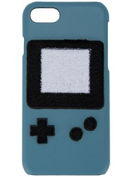 Les Petits Joueurs Gameboy Iphone 7 Case Women Leather One Size Blue