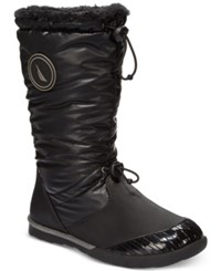 Nautica Amistead Cold Weather Boots Women's Shoes Black