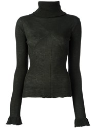 Ssheena Turtleneck Jumper Green