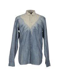 Diesel Black Gold Shirts Shirts Men Slate Blue