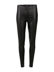Morgan Faux Leather Leggings Black