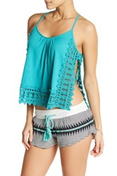 Rip Curl Love And Surf Tank Blue