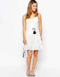 Sister Jane Parlay Skirt In Lace White