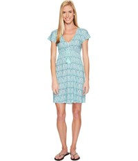 Carve Designs Vero Dress Blue Lagoon Women's Dress