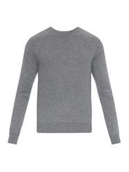 Vince Contrast Knit Cashmere Sweater