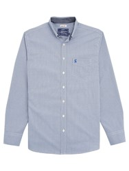 Joules Hensley Gingham Slim Fit Shirt Navy
