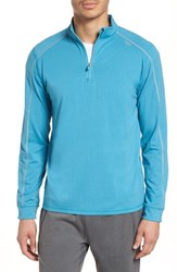 Tasc Performance Carrollton Quarter Zip Sweatshirt Barracuda