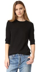 Vince Elbow Sleeve Pullover Black