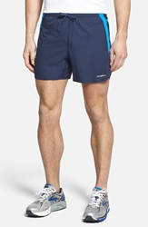 Patagonia 'Strider Pro' Stretch Woven Running Shorts 5 Inch Navy Blue