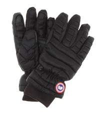 Canada Goose Quilted Gloves Black