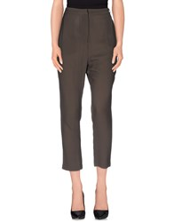 Laurence Dolige Trousers Casual Trousers Women Military Green