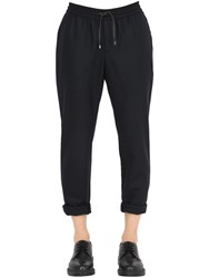 Bernardo Giusti Wool Flannel Jogging Pants