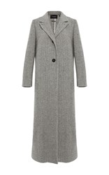Isabel Marant Duard Long Coat Light Grey