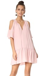 Amanda Uprichard Ora Dress Dusty Rose