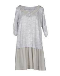 Crea Concept Short Dresses Light Grey