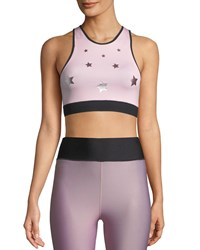 Ultracor Altitude Luster Performance Crop Top Pink
