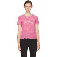 Opening Ceremony Pink Double Layer T Shirt