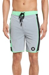 Hurley Men's Big And Tall Phantom Motion Stripe Board Shorts Wolf Grey