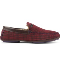 Ted Baker Ruffas Check Slipper Red