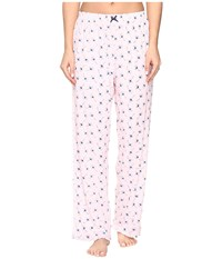 Jockey Printed Ankle Length Pants Ginkgo Leaves Women's Pajama Pink