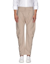 Paolo Pecora Trousers Casual Trousers Men Beige