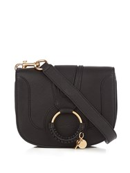 See By Chloe Hana Small Leather Cross Body Bag Black